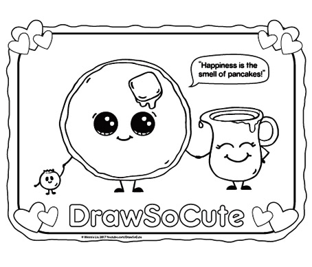 cute pictures coloring pages | Coloring Pages – Draw So Cute