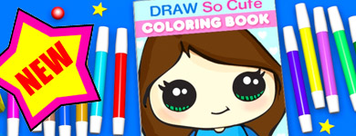 Draw So Cute – Cute Drawing Videos, Coloring Pages and Crafts for Kids